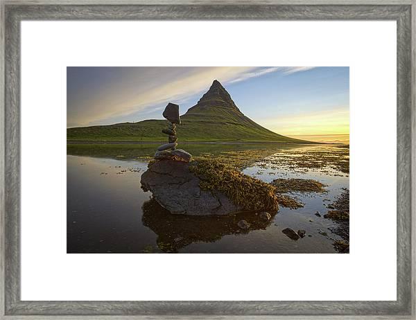 Balancing Art #63 Framed Print