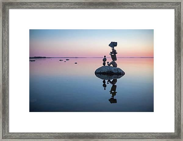 Balancing Art #65 Framed Print