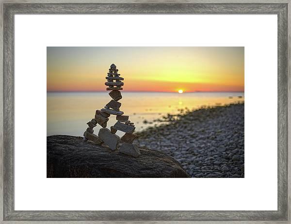 Balancing Art #66 Framed Print