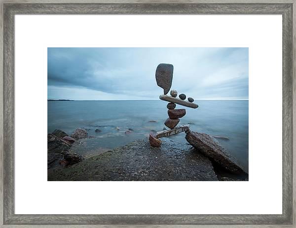 Balancing Art #69 Framed Print