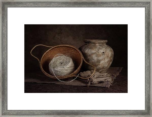 Ball Of Twine Framed Print