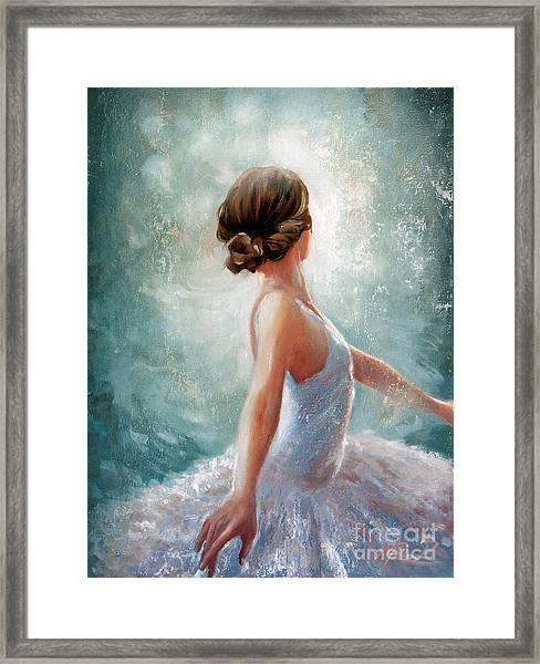 Ballerina Dazzle Framed Print