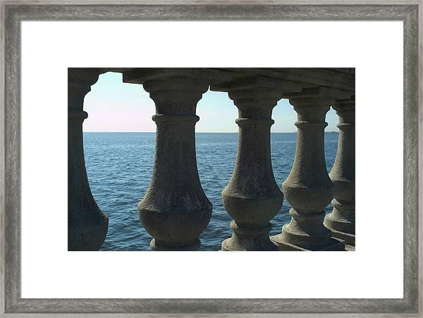 Balustrade Framed Print by Tbd