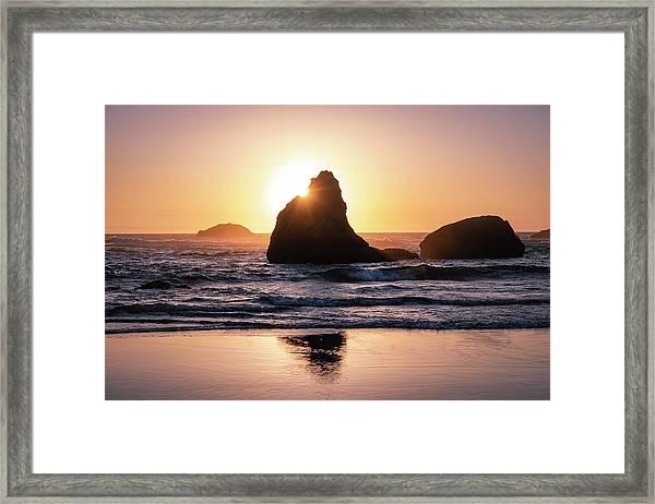 Bandon Light Framed Print