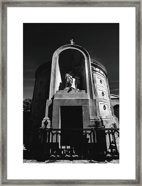 Baroque Tomb Framed Print