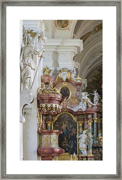 Barouque Excess Framed Print