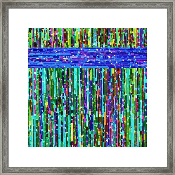 Barrier Reef Framed Print by Color Bliss