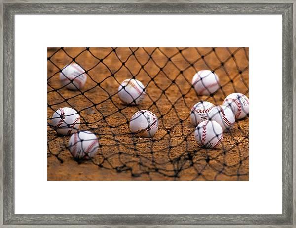 Baseballs Framed Print