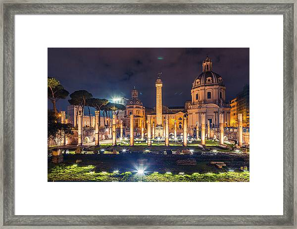 Basilica Ulpia Framed Print