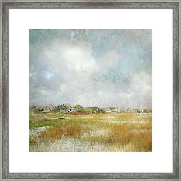 Basin Impressions Framed Print