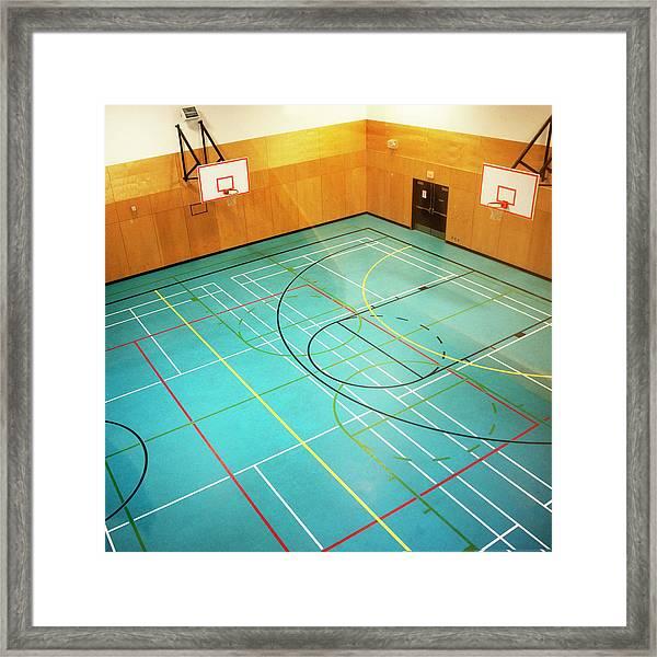 Basketball Courts Framed Print