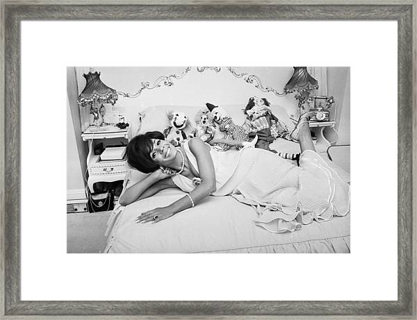 Basseys Bedroom Framed Print
