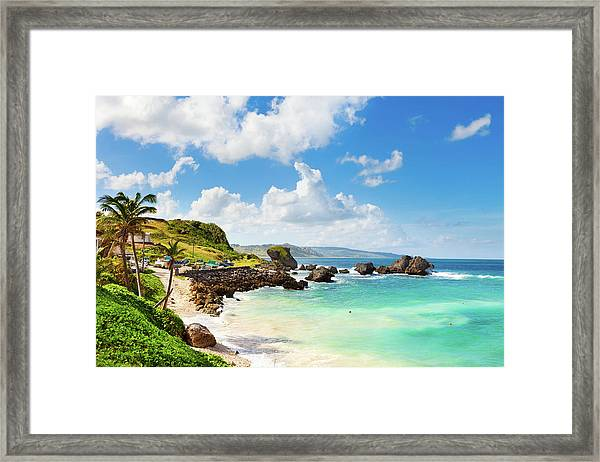 Bathsheba, Barbados Framed Print