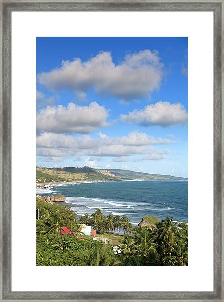 Bathsheba Bay, Barbados Framed Print