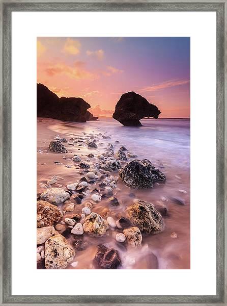 Bathsheba Sunset Framed Print