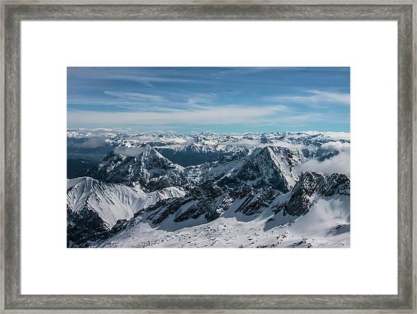 Bavarian Alps Framed Print