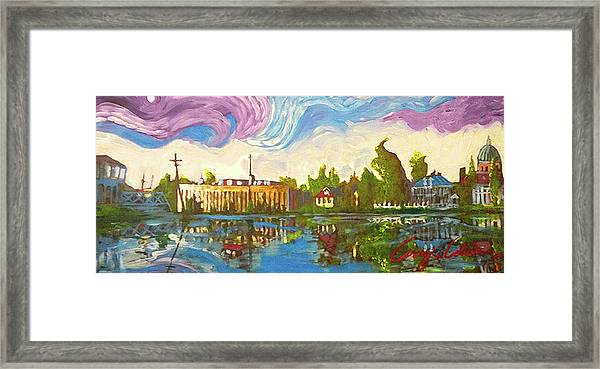 Bayou Saint John One Framed Print