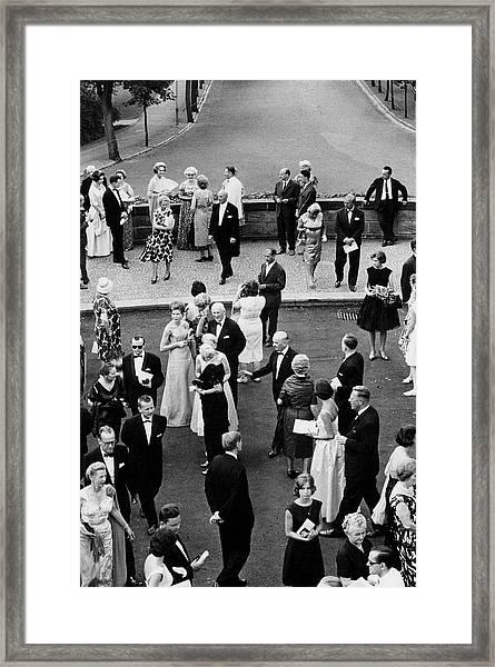 Bayreuth Festival Framed Print