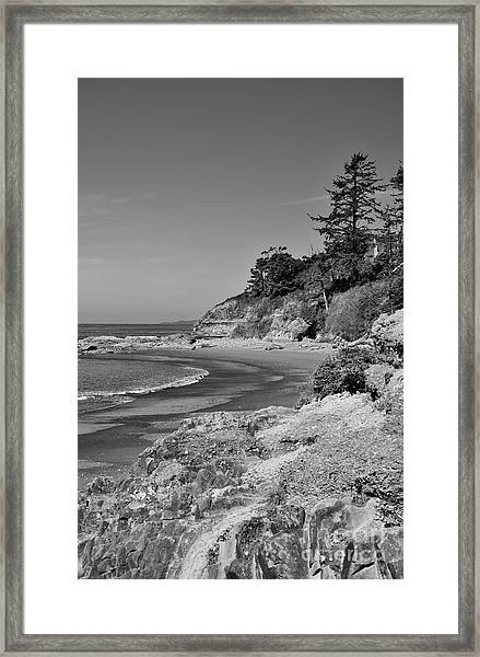Beach 4 Framed Print