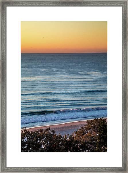 Beach Moods Framed Print