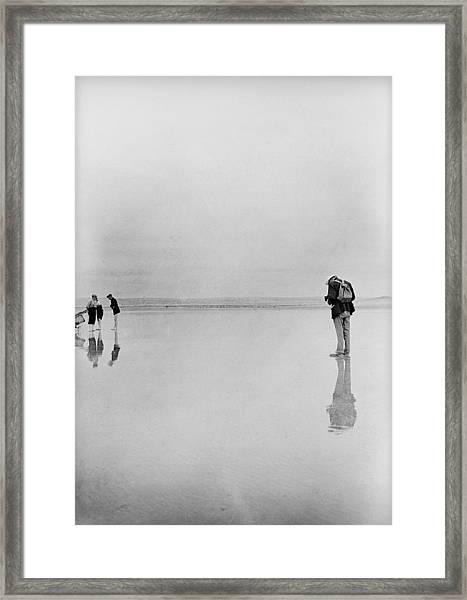 Beach Photographer Framed Print