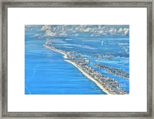 Beachmiles-5137-tonemapped Framed Print
