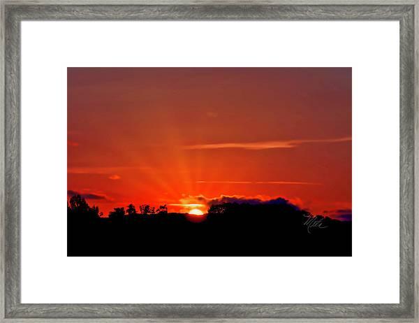 Beacon Heights Sunrise Framed Print