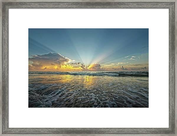 Beams Of Morning Light 2 Framed Print