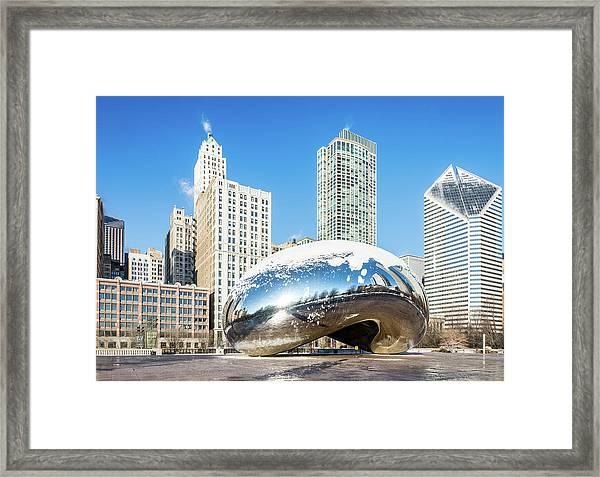 Bean Scene Framed Print