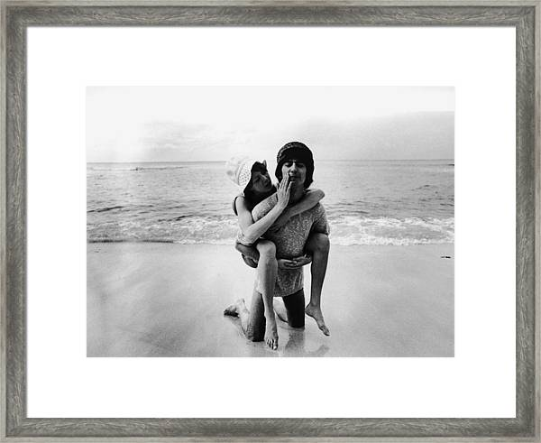 Beatle In Barbados Framed Print