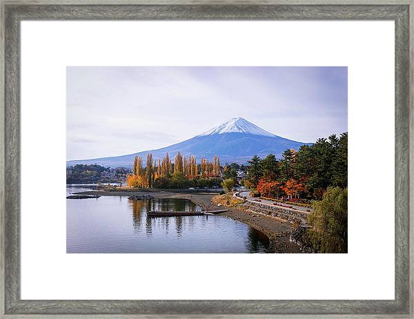 Beautifuji Framed Print by Suphat Bhandharangsri Photography