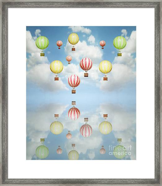 Beautiful Abstract Artistic Background Framed Print