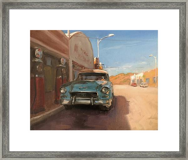 Beautiful Downtown Lowell, Arizona Framed Print