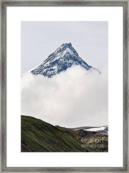 Beautiful Mountain Landscape Of Framed Print by Alexander Piragis