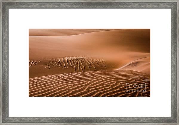 Beautiful Namib Desert 2 Framed Print