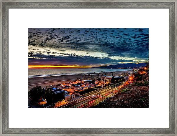 Beautiful Sky After The Storm Framed Print