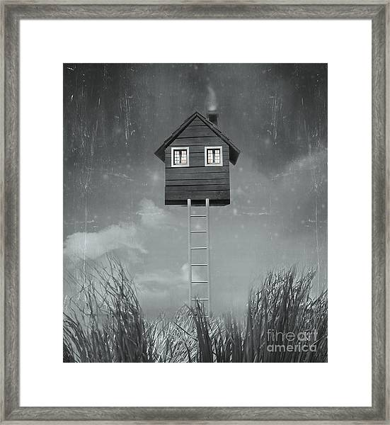 Beautiful Surreal Artistic Image That Framed Print