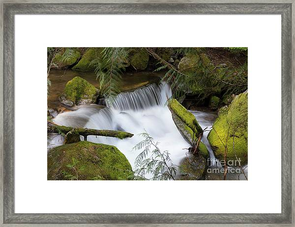 Beauty Falls Framed Print
