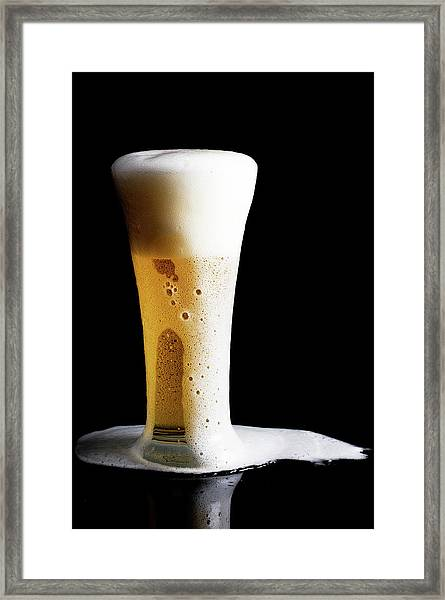 Beer Framed Print by 101cats