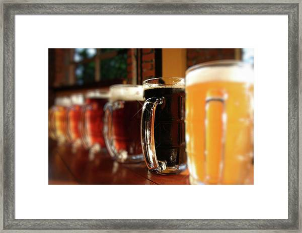 Beer Fest Framed Print by Nodulespix