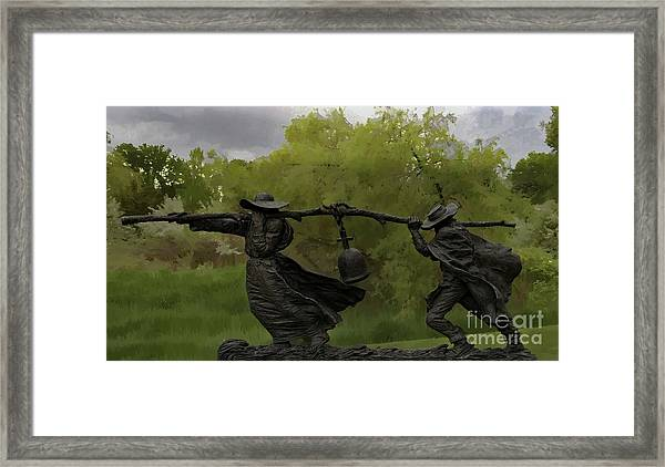 Bell Keepers In A Storm Framed Print