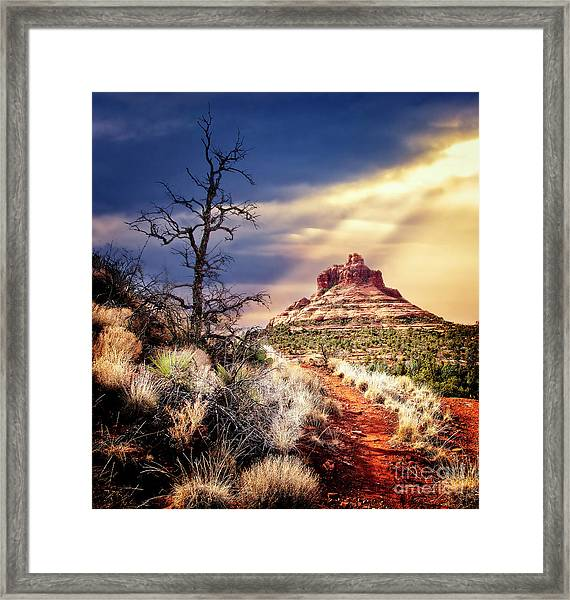 Bell Rock Framed Print by Scott Kemper