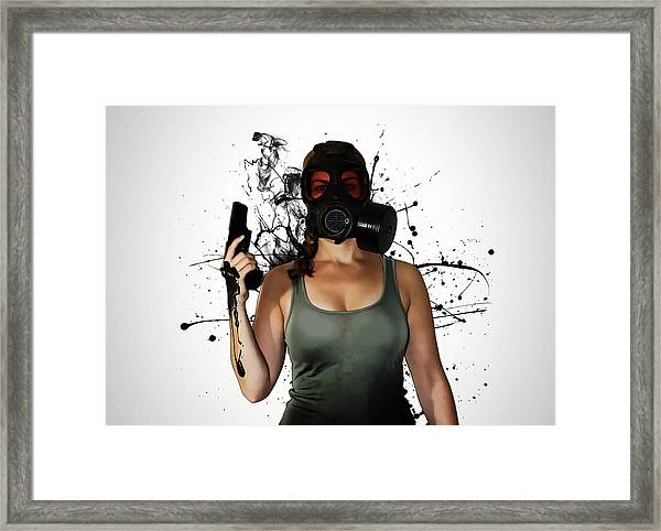 Bellatrix - Horizontal Framed Print