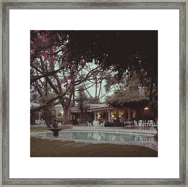 Bermuda Style Framed Print