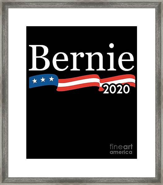 Bernie For President 2020 Framed Print