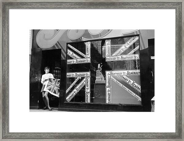 Best Of British Framed Print