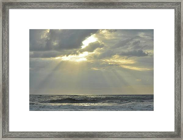 Best Part Of The Day Framed Print