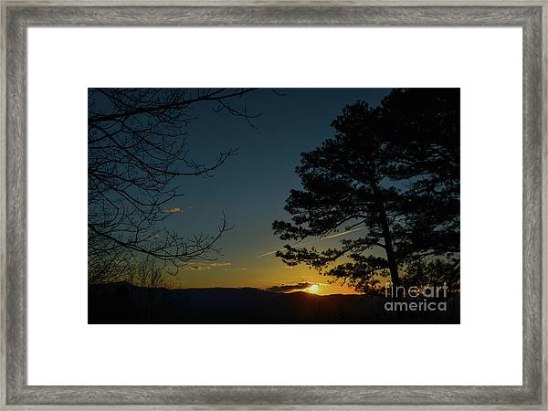 Beyond The Now Framed Print