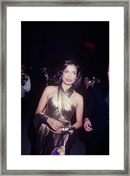 Bianca Jagger Framed Print by Art Zelin