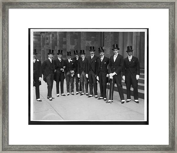 Biddle-duke Wedding Framed Print